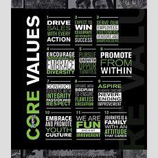 Careers Core Values Journeys