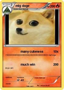 MLG Doge Pokemon Card