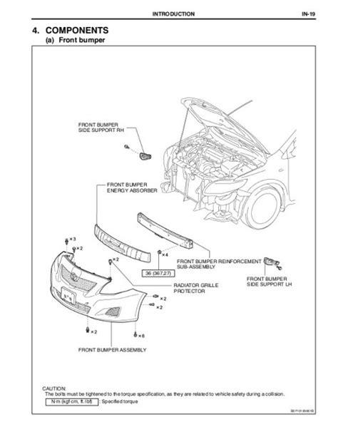 2008 Corolla Engine Diagram by 2006 Toyota Corolla Parts Diagram Periodic