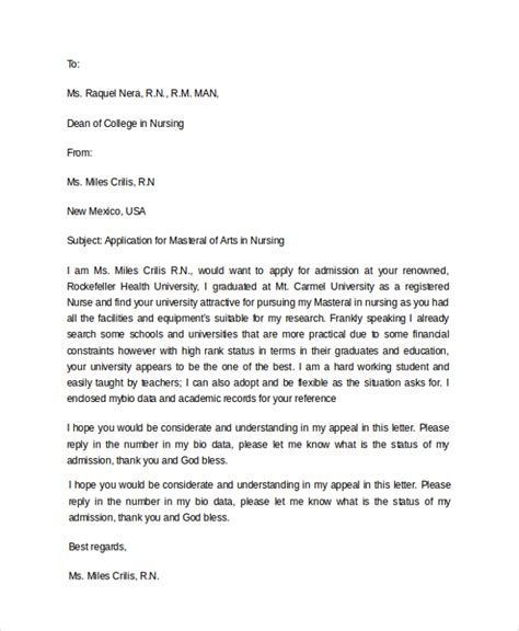 15043 application letter format for school admission 10 sle college application letters pdf word apple