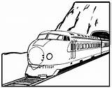 Train Coloring Pages Coloringpages1001 Drawings Line sketch template