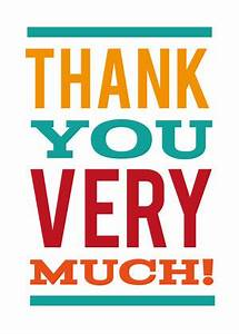 Thank You Greeting Cards - Thank You Very Much by Mixbook