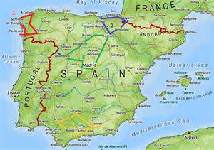 Galicia Spain Map