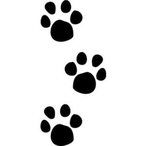 The ideas about paw print clip art on dog paw ...
