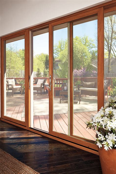 miki sliding patio door marvin photo