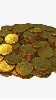 3d gold coins 2 model