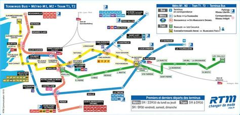 plan métro rtm