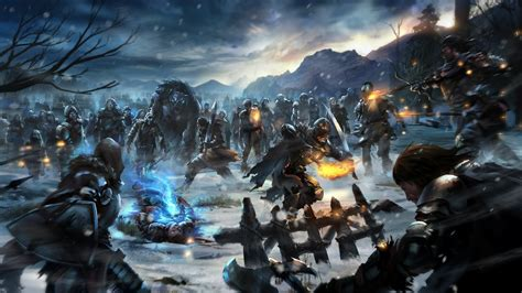 game  thrones white walkers video games fantasy art