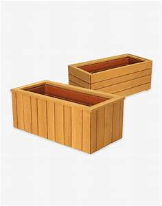 Waschtischplatte Holz Nach Maß : pflanzbeh lter und blumenk sten aus holz individuell ~ Michelbontemps.com Haus und Dekorationen