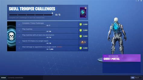 fortnite skull trooper skin outfit pngs images pro