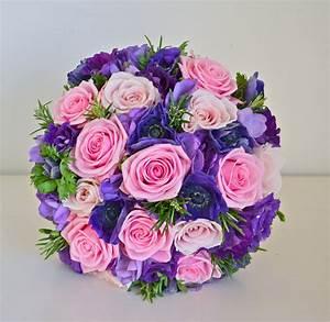 Wedding Flowers Blog: Jonquil's Pink and Purple Wedding ...