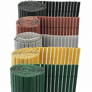 Brise Vue Plexiglass : brise vue brise vent paravent balcon jardin plastic marron ~ Premium-room.com Idées de Décoration