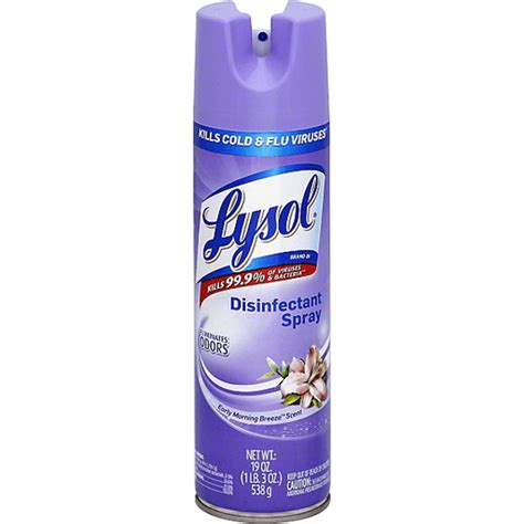 Lysol Disinfectant Spray Freshzone Early Morning Breeze