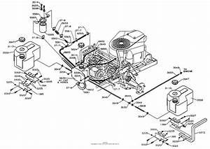Dixon Ztr 5020  1998  Parts Diagram For Fuel  Hydro Tanks
