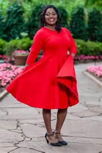 Women Heart Red Dress