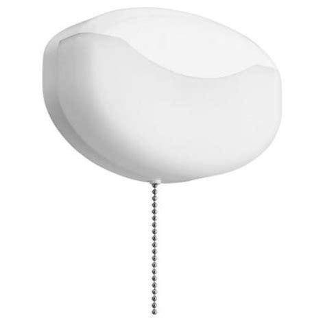 lithonia lighting 1 light white led closet light with pull