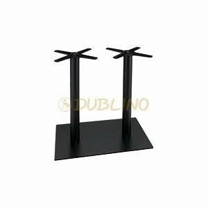 Tischgestell Metall Schwarz : tischgestell aus metall pulverbeschichtet schwarz 2s ulig p070f tischgestelle aluminium ~ Frokenaadalensverden.com Haus und Dekorationen