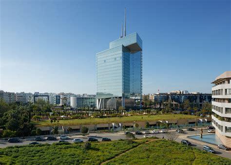 siege maroc telecom tallest building in morocco masterbuild africa