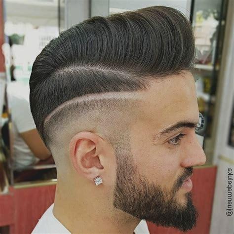coupe de cheveux homme d 233 grad 233 avec trait bricolage maison et d 233 coration