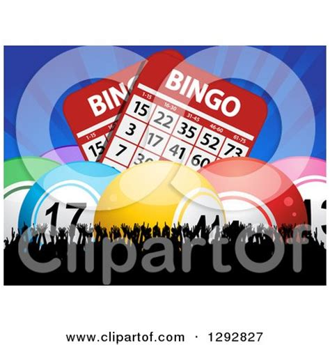 background  colorful lottery bingo balls posters art