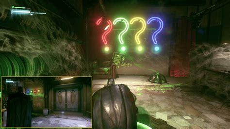 panessa studios riddler trophies batman arkham knight
