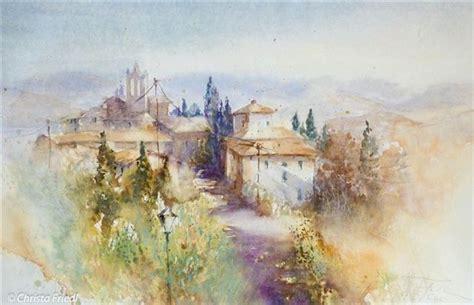 chambre d hotes dans les arbres peindre à l aquarelle dans le chianti villa le barone