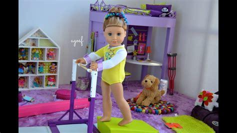 american girl doll mckenna bedroom morning routine