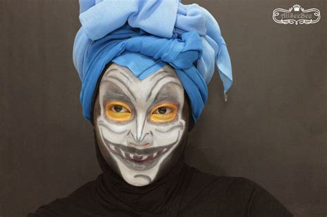 collaboration  disney villains males hades makeup