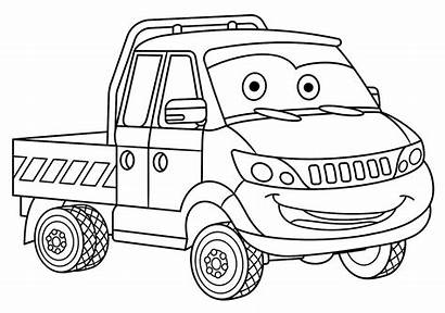 Coloring Cars Trucks Printable Colouring Boys Vehicle