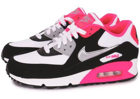 air max blanc nike air max 90 junior blanc noir chaussures chaussures chausport