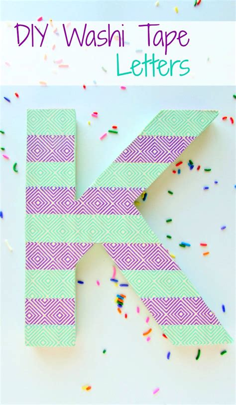 diy washi tape letters val event gal