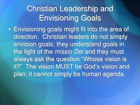 gardners  leadership tasks adapted  christian