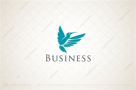 20 Beautiful Hummingbird Logos