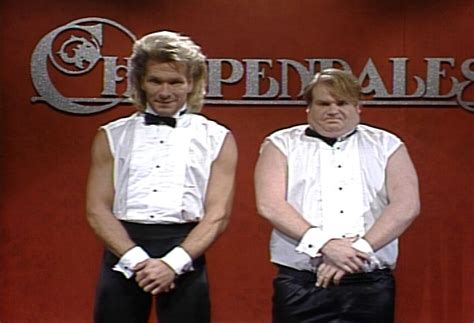 Chippendales Meme - chippendales audition snl with patrick swayze and chris farley classic rip saturday night