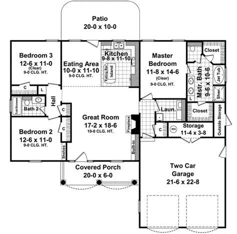 1500 sf house plans house plans 1500 square 1500 square house plans