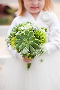 Wedding Inspiration: Green Wedding Bouquets