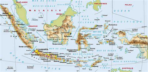 Carte Du Monde Voir Bali by Carte Indon 233 Sie Arts Et Voyages