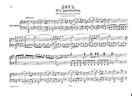 the marriage of figaro le nozze di figaro act 1 piano