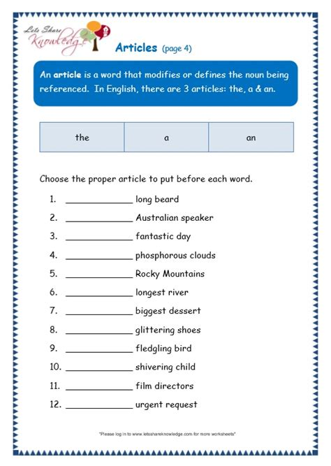 All Worksheets » English Grammar Grade 7 Worksheets  Printable Worksheets Guide For Children