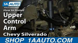 How To Replace Upper Control Arm 00