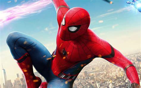 spiderman hero marvel avengers art illustration wallpaper