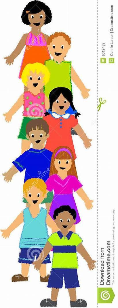 Children Vertical Illustration Portfolio Colorfully Crayon Diverse