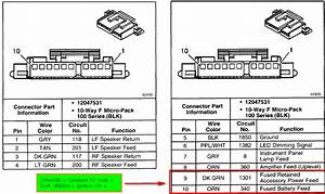 2010 Gmc Sierra Radio Wiring Diagram