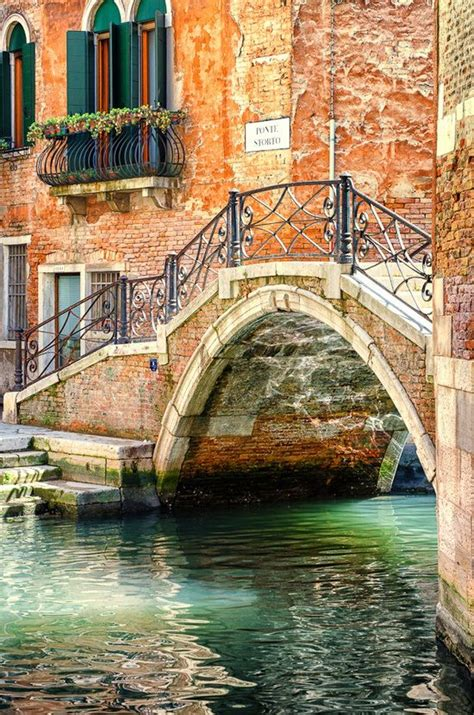 There Are A 100 Bridges Just Like This In Venice The Most