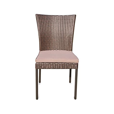 wilson fisher 174 hyde park resin wicker outdoor dining