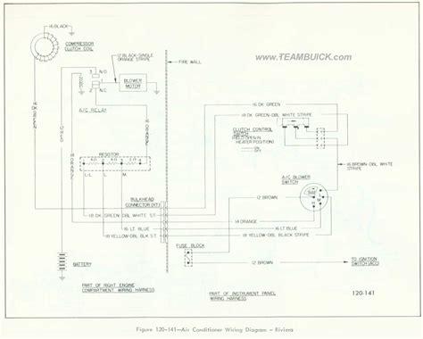 Buick Riviera Air Conditioner Wiring Diagram