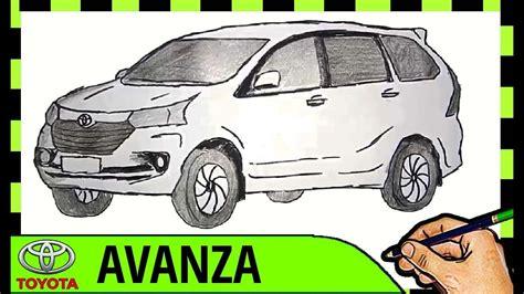 Gambar Mobil Gambar Mobiltoyota Avanza by Catatanku Anak Desa Mewarnai Gambar Mobil Avanza
