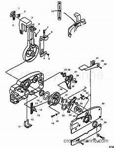 Quicksilver Throttle Control Parts Diagram