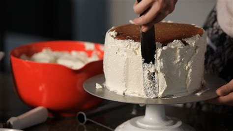 fill frost  cake wedding cakes youtube