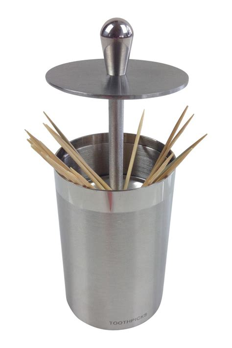 ghome stainless steel toothpick holder  minneapolis